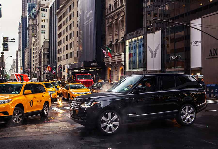 Photo of Traffic control test by New York Cabs